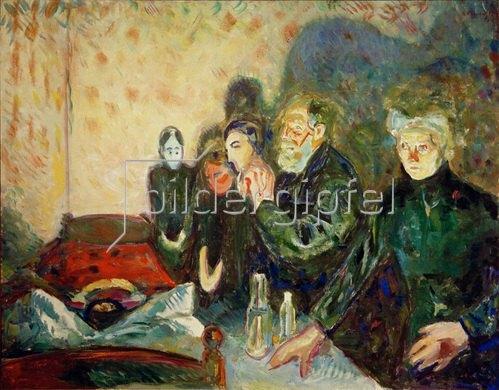Edvard Munch: Todeskampf 1915