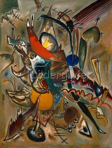 Wassily Kandinsky: Bild mit Spitzen (Komposition Nr. 234)