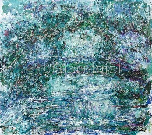 Claude Monet: Le Pont japonais (Die japanische Brücke), 1923/25