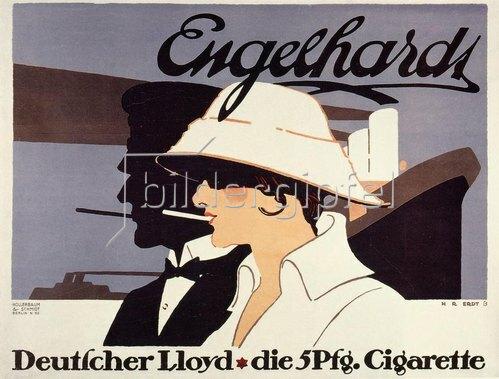 Engelhardt Deutscher Lloyd die 5 Pfg. Cigarette