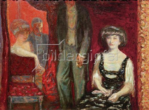 Pierre Bonnard: Die Loge, Herr und Frau Josse und Gaston Bernheim-Jeune