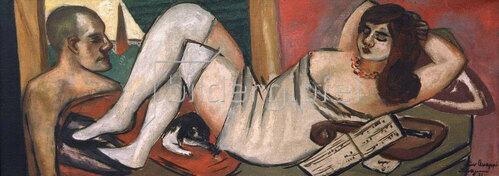 Max Beckmann: Siesta