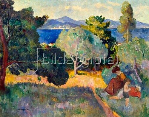 Henri Manguin: Saint Tropez, 1905.