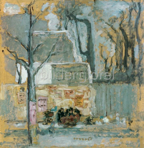 Pierre Bonnard: Eine Ecke in Paris