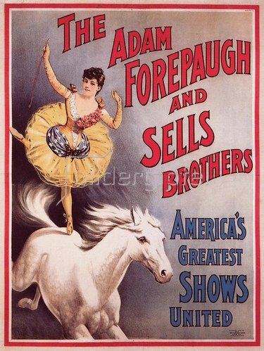 Anonym: THE ADAM FOREPAUGH AND SELLS BROTHERS / AMERICA'S GREATEST S
