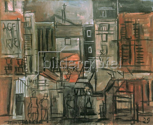 Joaquin Torres-Garcia: Ohne Titel, 1929