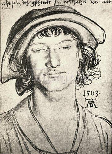 Albrecht Dürer: Portrait of an eighteen-year-old youth, 1503