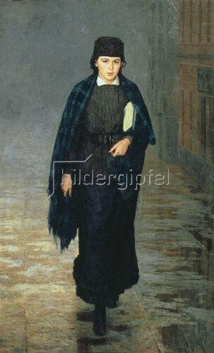 Nikolai Alexandrowitsch Jaroschenko: Die Studentin, 1883