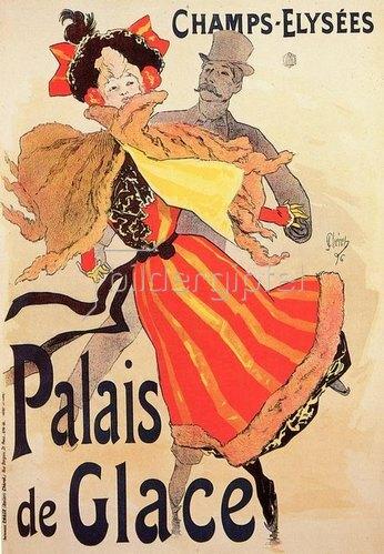 Jules Cheret: Palais de Glace. Champs-Elysées, 1896