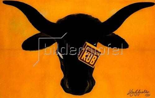 Leonetto Cappiello: BOUILLON KUB, Werbung für Rindfleischbrühe