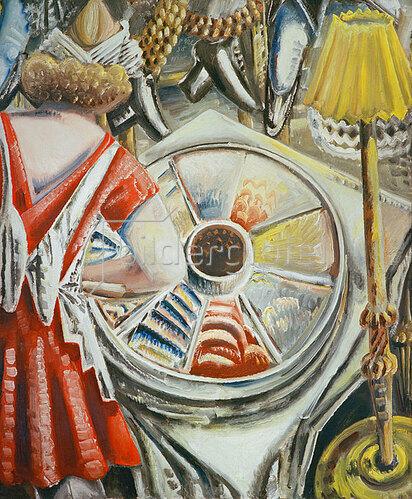 Paul Kleinschmidt: Serviererin am Buffet, 1930