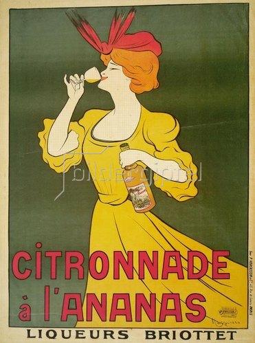 Leonetto Cappiello: Citronnade à l'Ananas