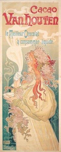 Cacao Vanhouten / Plakat 1897