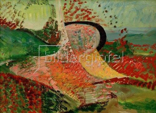 Kurt Schwitters: Landschaft, Abstraktion,1945/47.