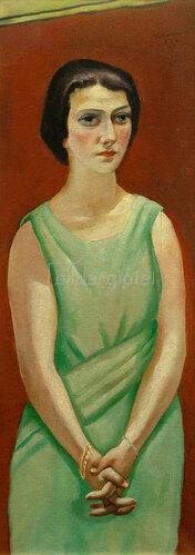 Max Beckmann: Bildnis Elsbet Götz, 1924