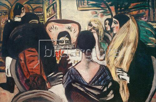 Max Beckmann: Claridge I, 1930