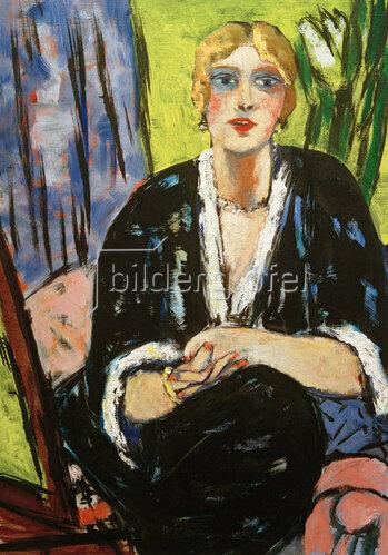 Max Beckmann: Portrait Lilly von Schnitzler