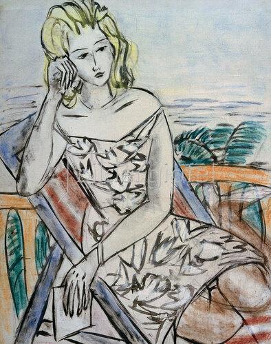 Max Beckmann: Bildnis eines jungen Mädchens, um 1939