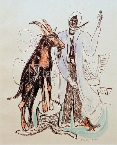 Max Beckmann: THE BUCK (Der Bock)