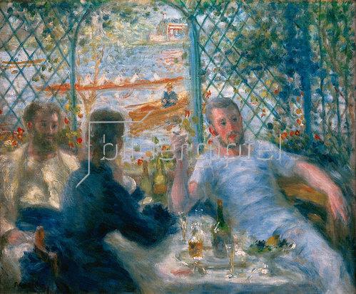 Auguste Renoir: Frühstück im Restaurant Fournaise (Das Frühstück der Ruderer), 1875