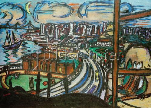 Max Beckmann: San Francisco, 1950