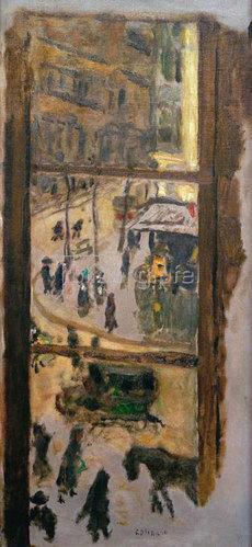 Pierre Bonnard: Durch die Fensterscheiben