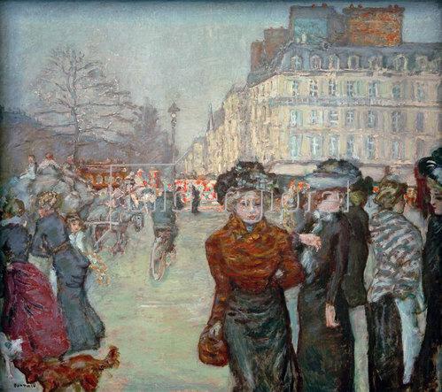 Pierre Bonnard: Place Clichy