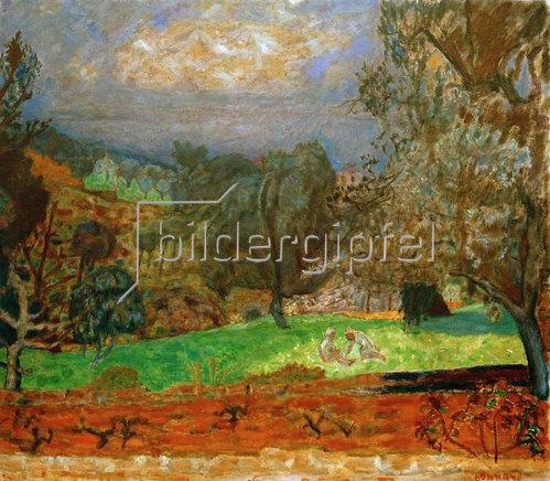 Pierre Bonnard: Landschaft bei Sonnenuntergang – Le Cannet