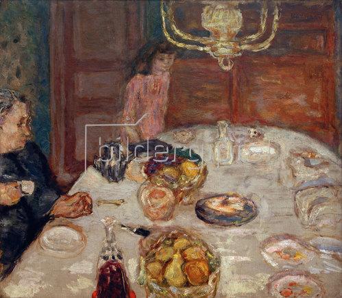 Pierre Bonnard: Les Poires (Le Déjeuner au Grand-Lemps)