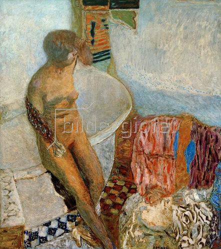 Pierre Bonnard: Akt mit Badewanne