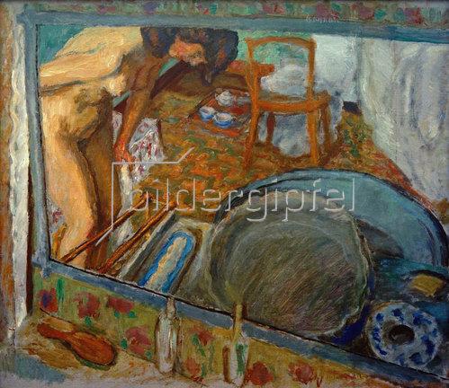 Pierre Bonnard: Spiegelung oder der Badezuber