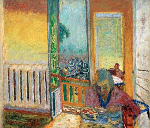 Pierre Bonnard: Das Frühstück am Heizkörper