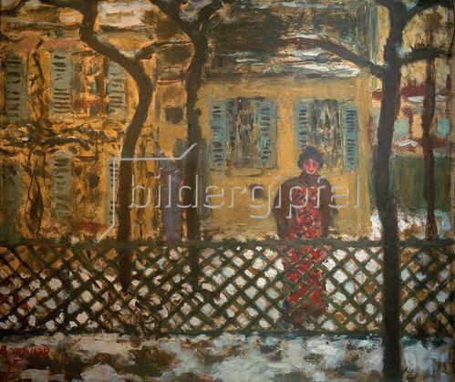 Pierre Bonnard: Hinter dem Zaun