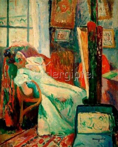 Henri Manguin: Schlafendes Modell (Jeanne), 1905.