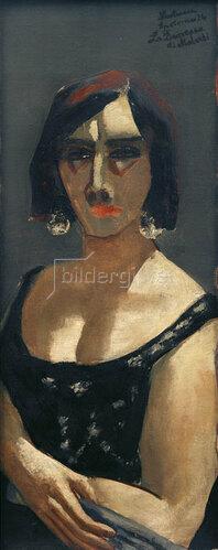 "Max Beckmann: Bildnis La Duchessa ""di Malvedi"", 1926"