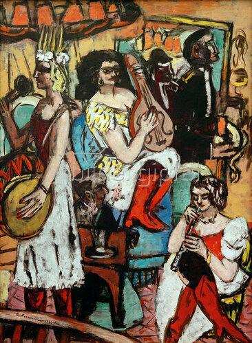 Max Beckmann: Damenkapelle, 1940