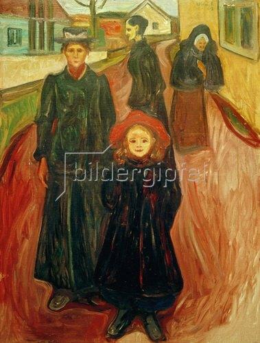 Edvard Munch: Vier Lebensalter 1902
