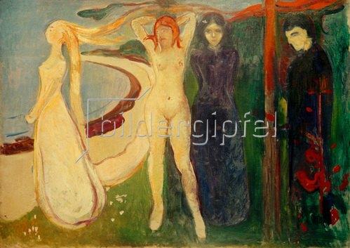Edvard Munch: Die Frau (Sphinx) 1894