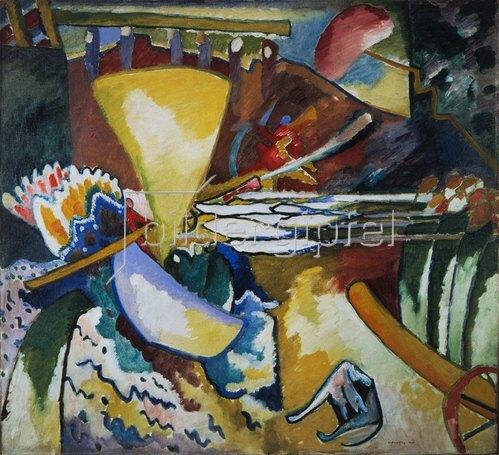Wassily Kandinsky: Improvisation II, 1910.