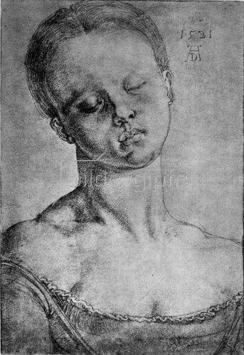 Albrecht Dürer: Die heilige Barbara, 1521