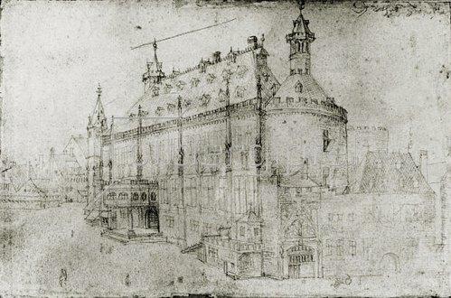 Albrecht Dürer: Das Aachener Rathaus, 1520/21