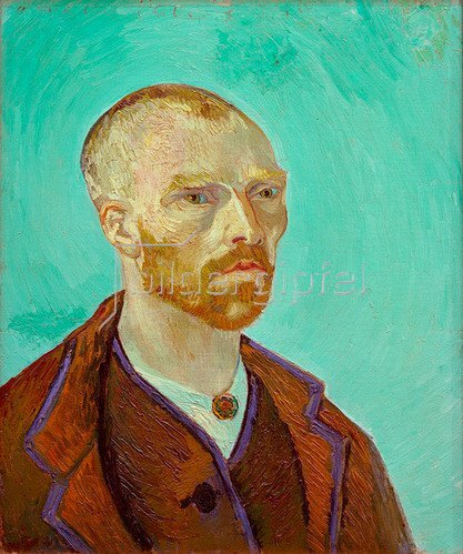 Vincent van Gogh: Selbstbildnis, Paul Gauguin gewidmet, 1888.