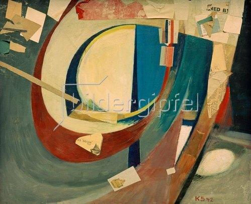 Kurt Schwitters: Bild abstrakt Skoyen II, 1940/42.
