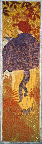 Pierre Bonnard: Frau mit Cape