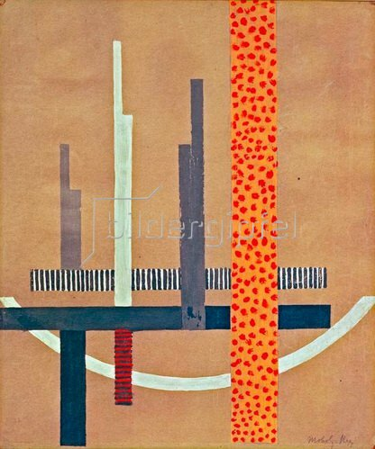 László Moholy-Nagy: Glasarchitektur, 1922