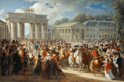 Charles Meynier: Einzug Napoleons in Berlin, 27. Oktober 1806