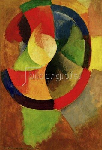 Robert Delaunay: Kreisformen, Sonne Nr.2, 1912/13