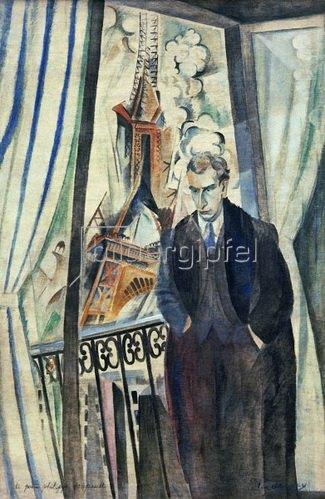 Robert Delaunay: Le poéte Philippe Soupault, 1922