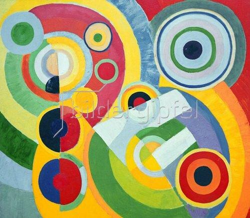 Robert Delaunay: Joie de Vivre (Lebensfreude), 1930