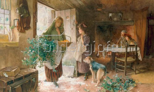 Alfred Carlton Smith: Christmas Eve (Weihnachtsabend), 1901,